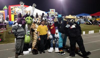 Furries For a Cure Join the ACS Relay for Life