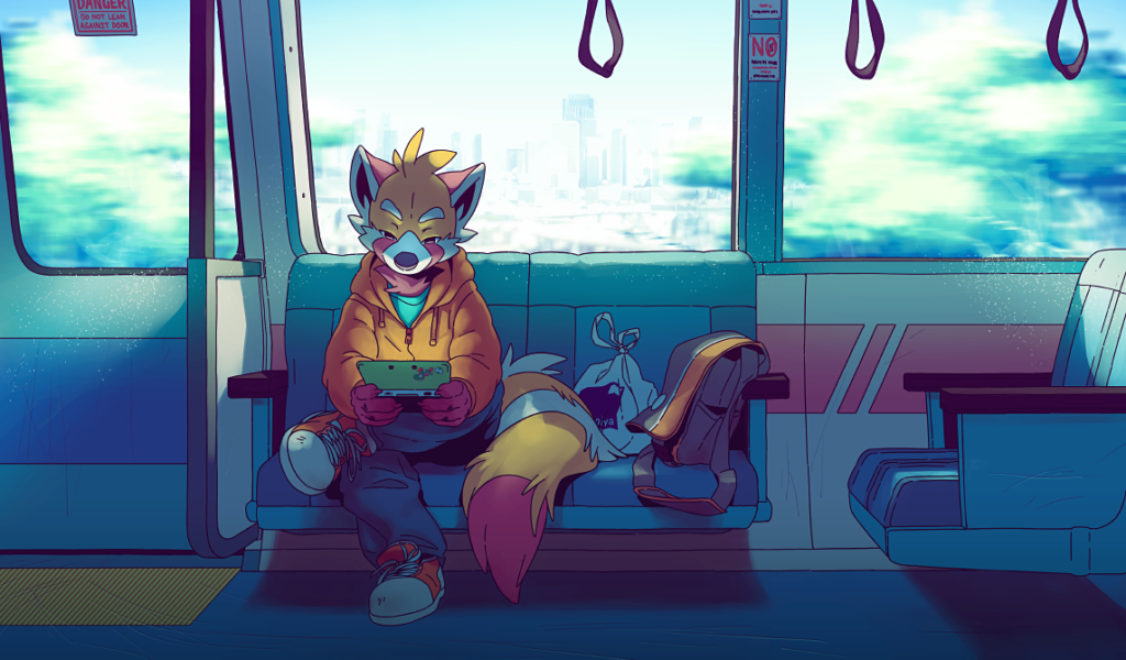Train Ride by Orangetavi on DeviantArt