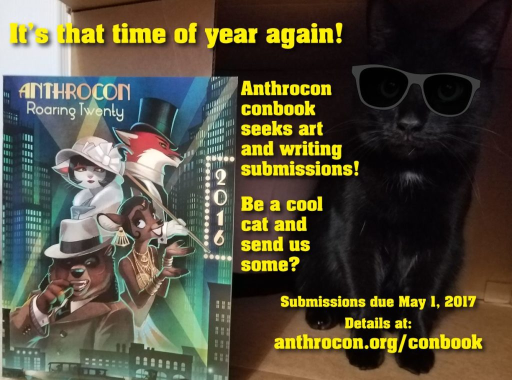 Call for Anthrocon Conbook Submissions
