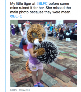 Tiger fursuit