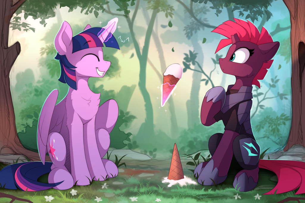 A Bit of Friendship for Tempest by Yakovlev-vad, via DeviantArt