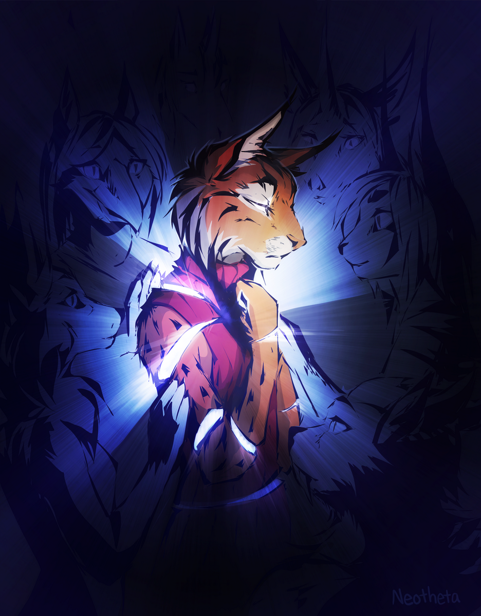 We Won't Let Your Light Escape, by Neotheta, via FurAffinity